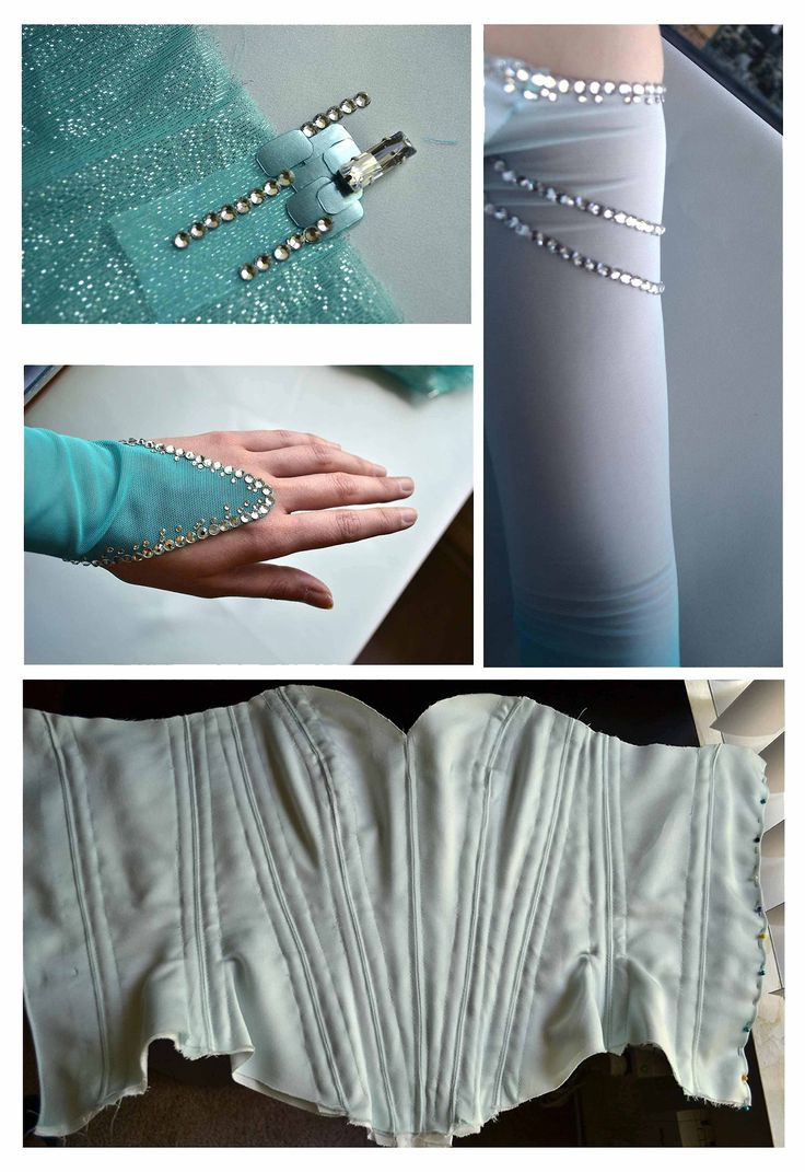 Giving this costume another shot, after making Aurora and thinking of some promising solutions. I made an Elsa costume, earlier this year, but ended up being unhappy with the final results. While...