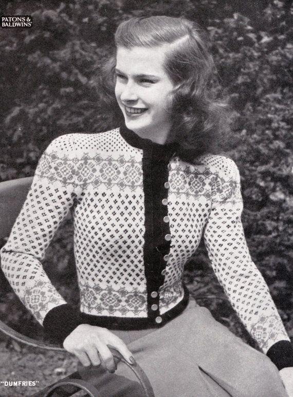 Vintage Knitting Images 100