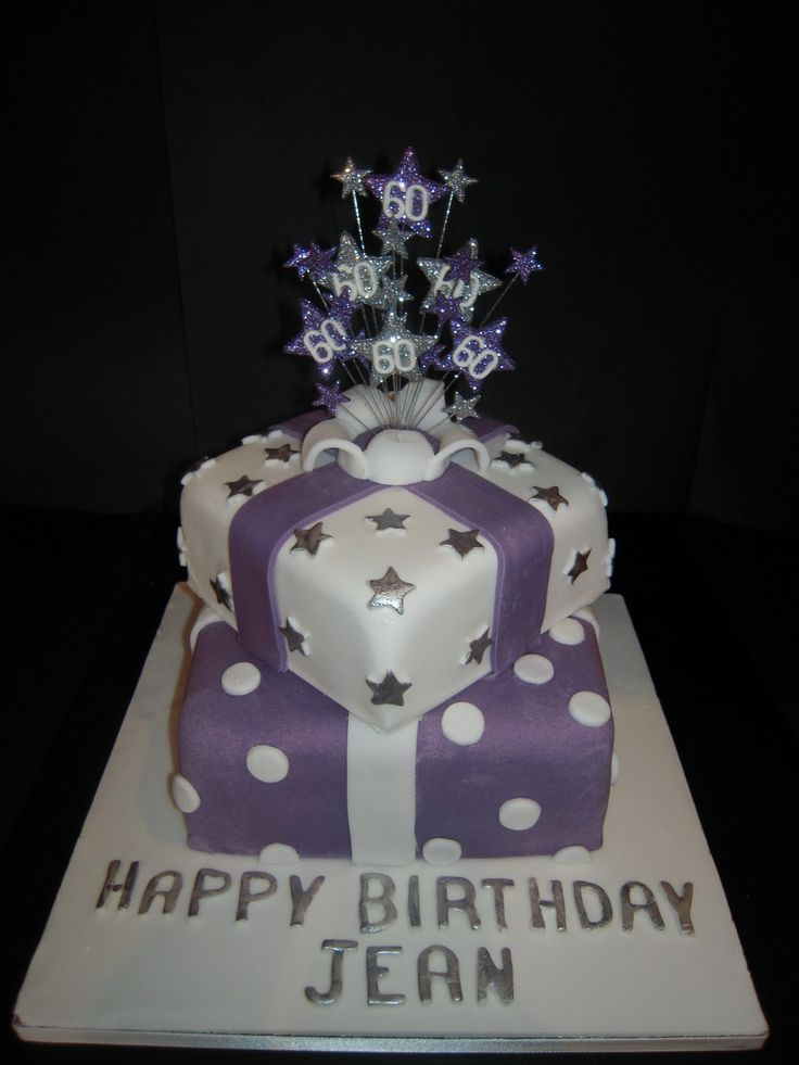 birthday cake pictures 60th | Eileen Atkinson's Celebration Cakes