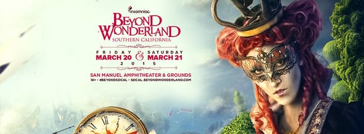 Enter for a chance to two win 2 tickets to Beyond Wonderland SoCal!