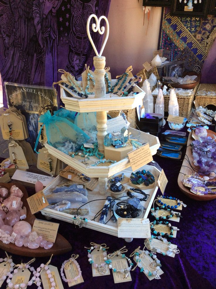 2014 new van displays for the markets Join. Me  https://www.facebook.com/pages/Fairy-Leonie/308978462946 #crystals #market stall