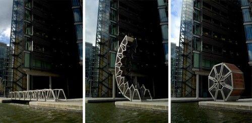 Thomas Heatherwick's 'Rolling Bridge'
