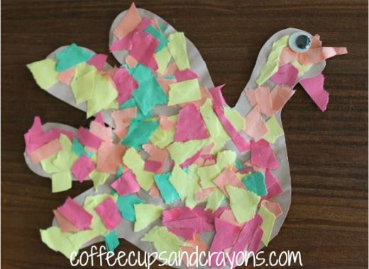 Super Easy and Fun Paper Turkeys | If you're looking for Thanksgiving crafts for kids that are both simple and a blast to create, then look no further.