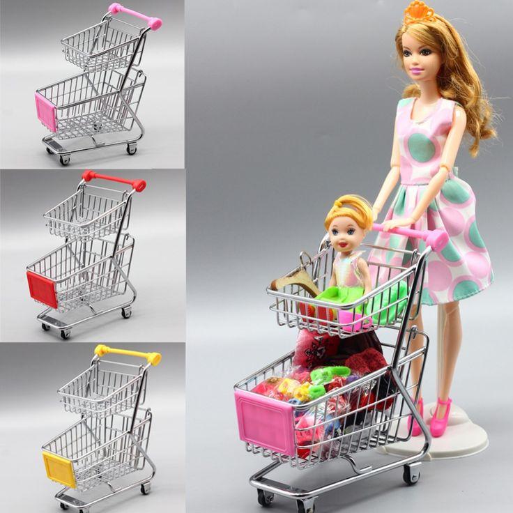 Mini supermarkt handkarren spielzeug einkaufen zweckwagen modus lagerung lustige klapp warenkorb für barbie puppe kinder geschenk spielzeug in Mini supermarkt handkarren spielzeug einkaufen zweckwagen modus lagerung lustige klapp warenkorb für barbie puppe kinder geschenk spielzeug aus Puppen Zubehör auf AliExpress.com | Alibaba Group