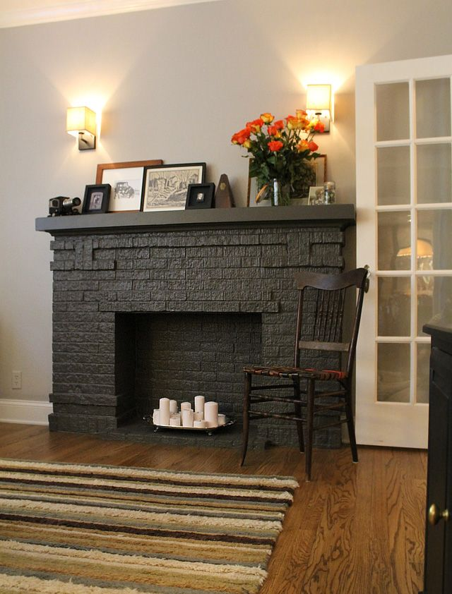 163 best images about fireplaces on pinterest painted. Black Bedroom Furniture Sets. Home Design Ideas