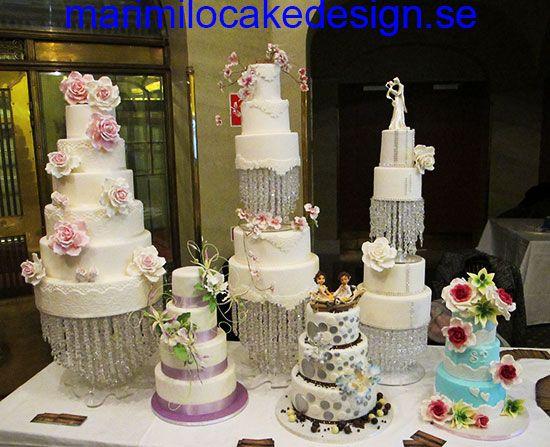 Bröllopstårta ställning