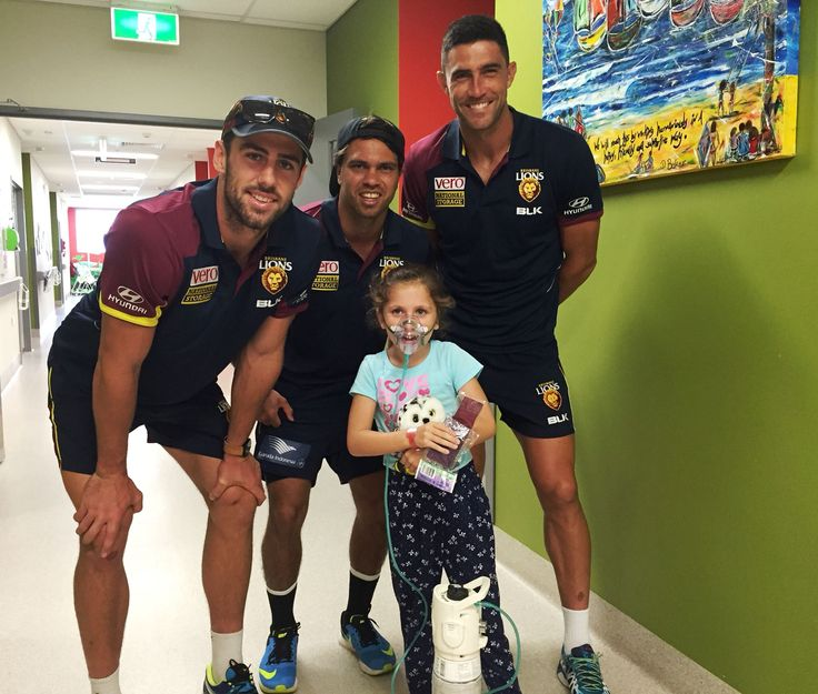 #CommunityCamp with the Lions also stopping by the Nambour General Hospital