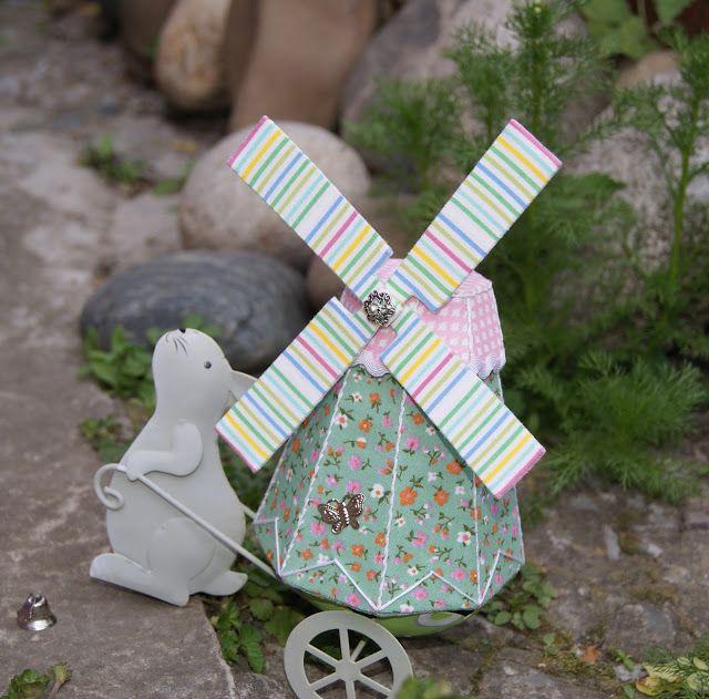 Лавандовый домик: Мельница- шкатулка