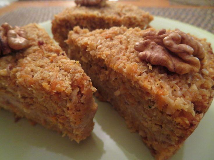 Fotorecept: Mrkvovo-citrónová torta s tofu krémom