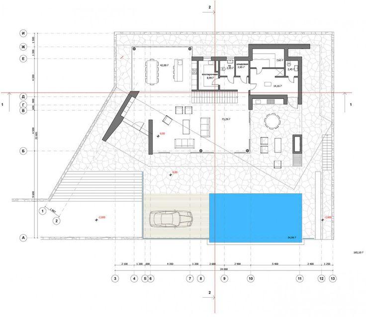Stadtvilla mit seitlicher garage  29 besten Haus: Architektur Bilder auf Pinterest | Haus ...