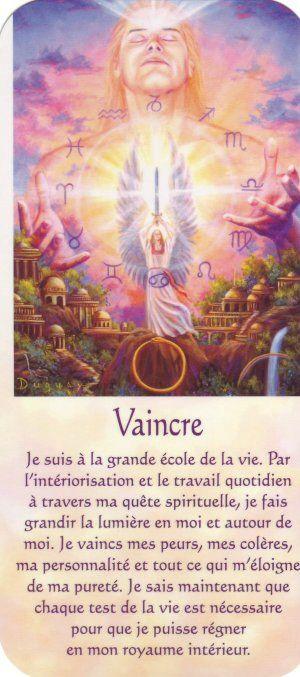 vaincre + texte