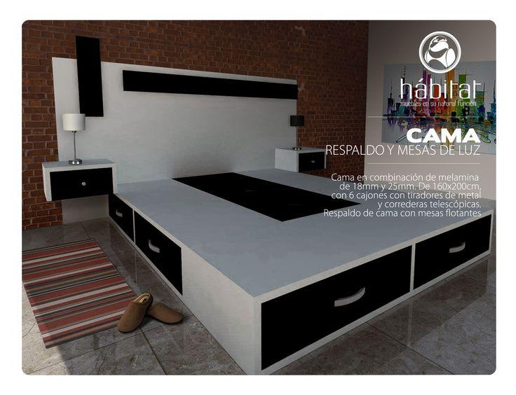32 best images about h bitat muebles on pinterest mesas - Cajonera bajo cama ...