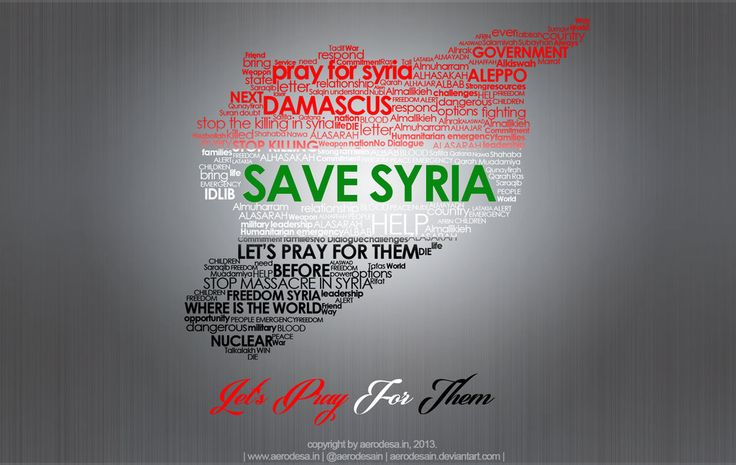 | Save Syria | Let's Pray for them |  ~Bersabarlah wahai saudaraku, Tidaklah seorang muslim tertimpa suatu keletihan dan penyakit (yang terus menimpa), kehawatiran dan kesedihan, dan tidak juga gangguan dan kesusahan bahkan duri yang melukainya melainkan Allah akan menghapus kesalahan-kesalahannya. (HR. Bukhari no. 5641)  …Cukuplah Allah menjadi Penolong kami dan Allah adalah sebaik-baik Pelindung.~