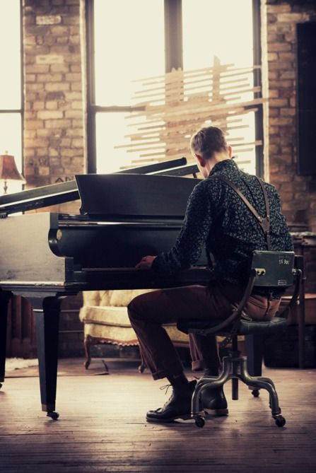 Piano player  (you play so well it breaks my heart ..... in a good way)