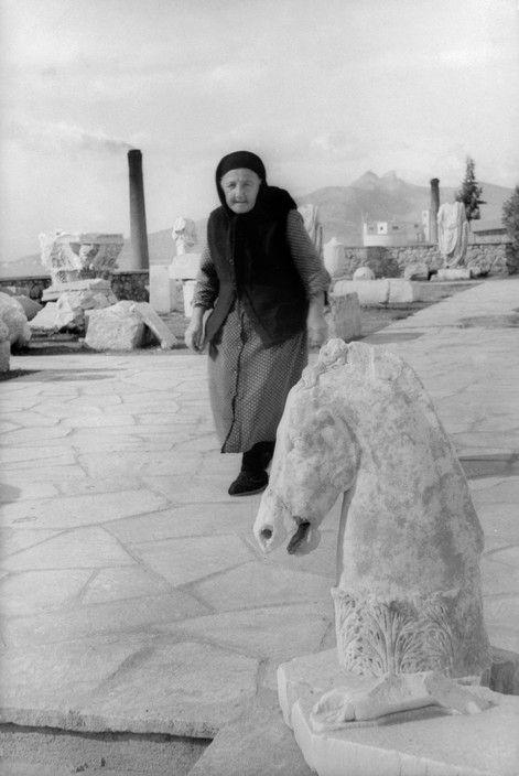 Magnum Photos - Henri Cartier-Bresson // GREECE. Attica. Ancient Eleusina. 1953.