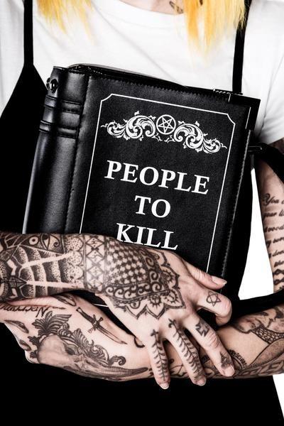 Kill List Book Handbag [B]