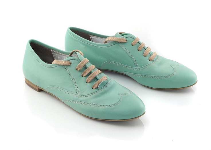 Chaniotakis | Green Leather Oxford