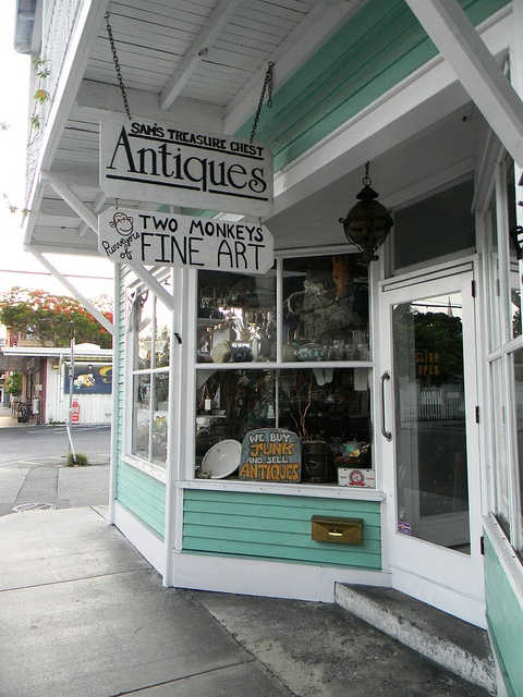 Key West- shop for an antique piece to be collected & displayed in our future home! :-)