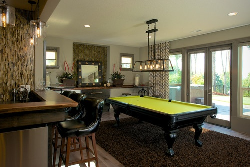 pool table placement from wall 3