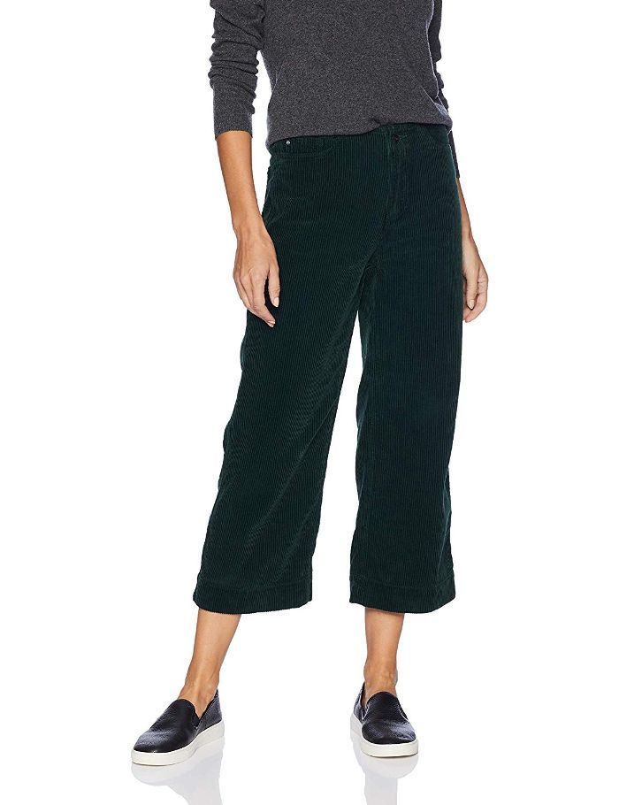 ec5d7648e4 45 Killer Holiday Gifts From Amazon for the Fashion Girl on Your List. AG  Adriano Goldschmied Wale Cord Etta Wide Leg Crop