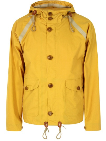 NIGEL CABOURN Aircraft Taped Survival Yellow Jacket
