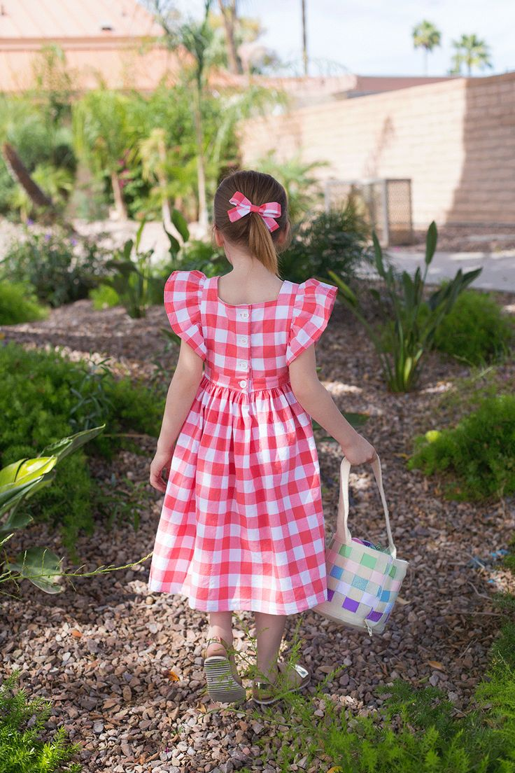 Easter Pinafore Pattern Hack • Bonnie and Blithe