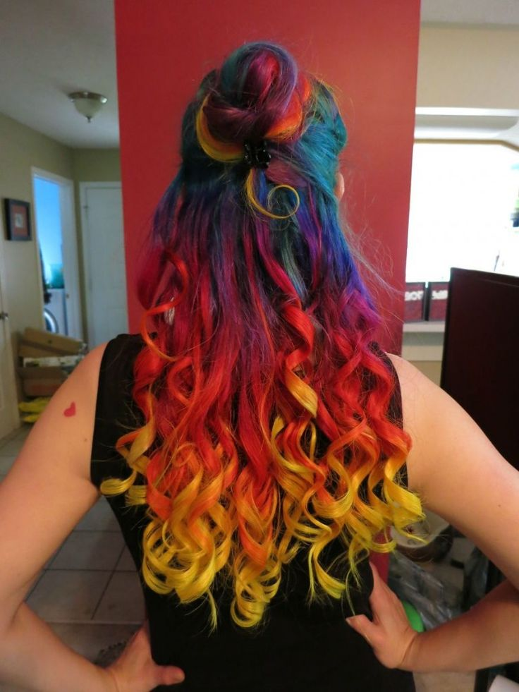 Tendência: cabelo de arco-íris | Estilo