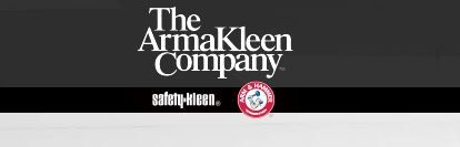 ArmaKleen FAQs - ArmaKleen is a joint venture between two of the leading companies in commercial and industrial parts cleaning: Church & Dwight, makers of Arm & Hammer brand products and Safety-Kleen Systems, the premier provider of parts cleaning and environmental solutions.  #water #based #cleaning #aqueous