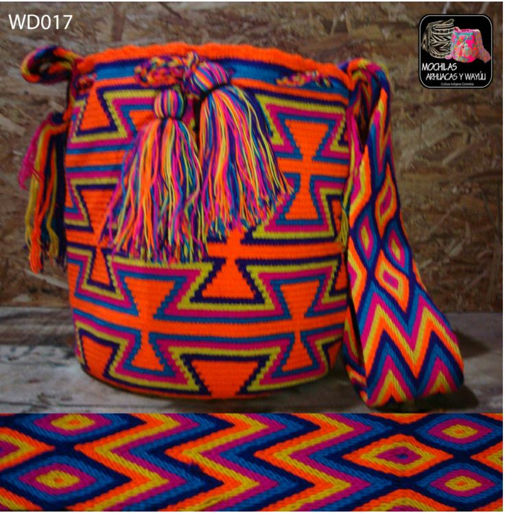 Mochila Wayuu artigenous@gmail.com More Styles!!