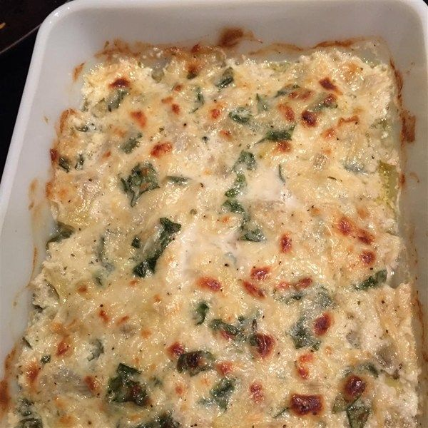 "Artichoke Chicken Casserole | ""One of the best things I have ever made!"""