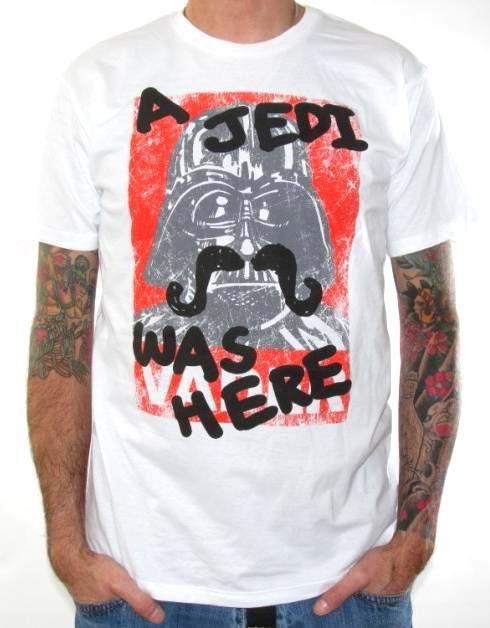 The best shirt!! Defaced Darth Vader