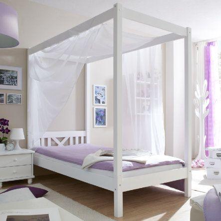 TiCAA Himmel-/ Einzelbett LaLuna weiß bei babymarkt.de - Ab 20 € versandkostenfrei ✓ Schnelle Lieferung ✓ Jetzt bequem online kaufen!