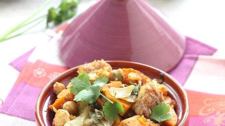 #AW @AUCHAN_France  [ #CUISINE ] La délicieuse #recette de #Tajine de #cabillaud coriande et patate douce !  http://tidd.ly/e7ed2eb7