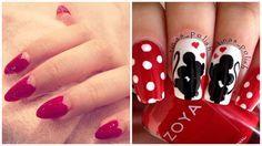 Unghie rosse: tantissime inspirations per la nail art di San Valentino