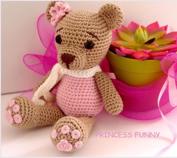 A personal favourite from my Etsy shop https://www.etsy.com/listing/525127368/crochet-bear-amigurumi-crochet