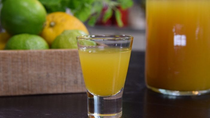 juice med ingefära