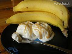 Banánová zmrzlina  (fotorecept)