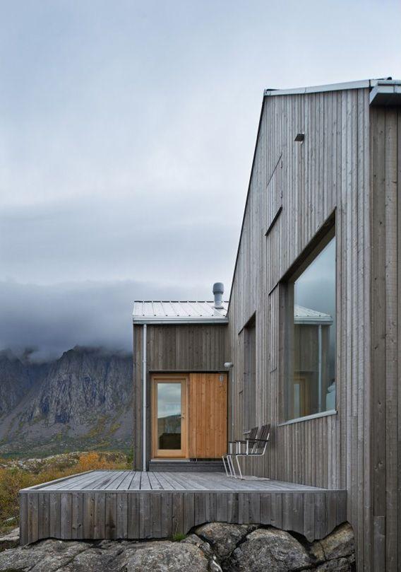 Colour for the cladding - grey driftwood-esque  Vega Cottage by Kolman Boye Architects 17