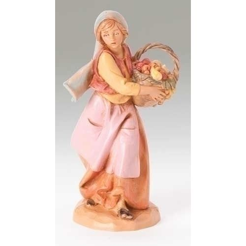 "5"" Rachel Nativity Fig    Polymer  5""SCALE - Distributed by: Roman Inc.<5"" Fontanini Sets & PiecesRoman, Inc.5"" Rachel Nativity Fig>"