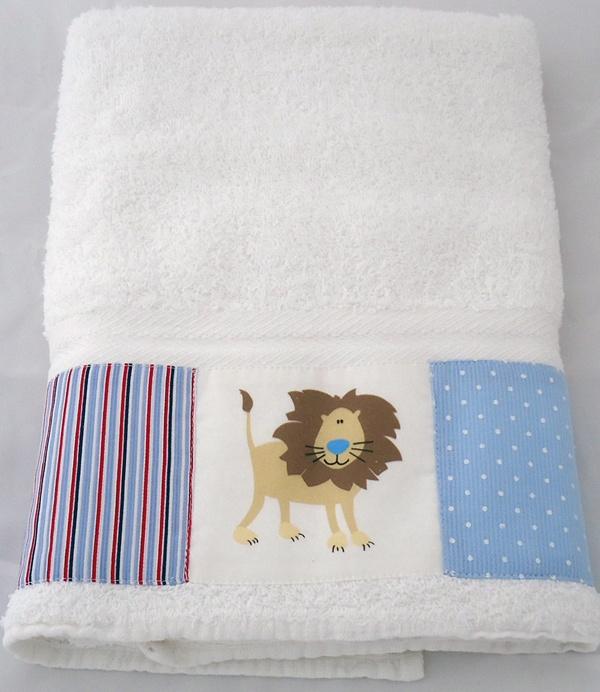 Set de toallón y toalla.  lulavai.com