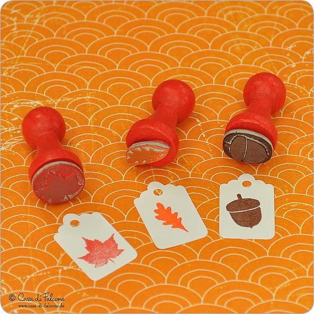 Mini Stempel Set Herbstzauber by Casa di Falcone, via Flickr