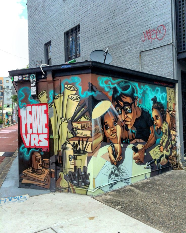May Lane murals by the brilliant @peque_vrs