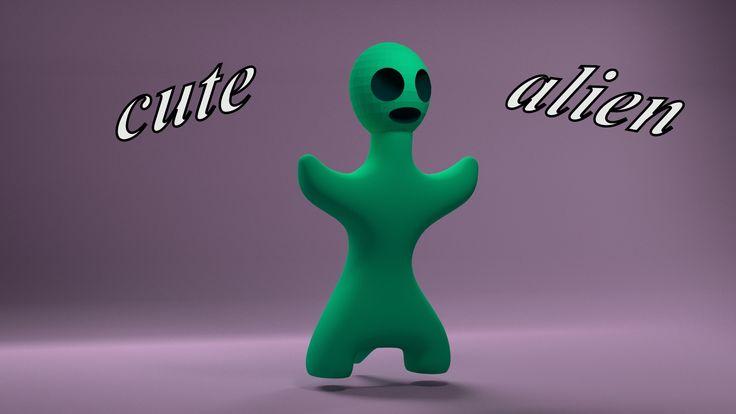 cute alien   3dshare