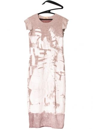 Long Painted Dress . mariaDovale . fashion design . scar-id store