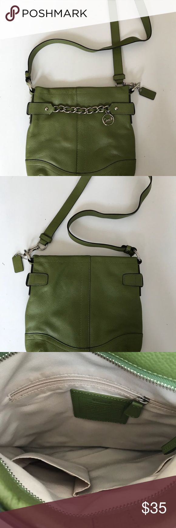 Coach purse Moss green Coach purse Coach Bags Crossbody Bags