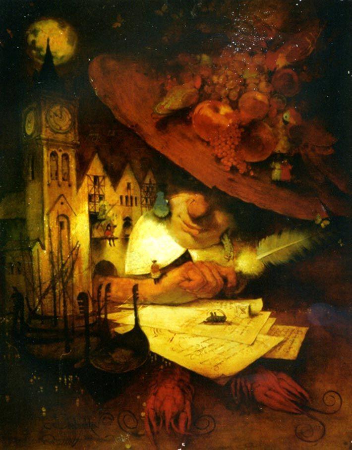 "Кирилл Челушкин «Алиса в доме волшебника» | ""Картинки и разговоры"""