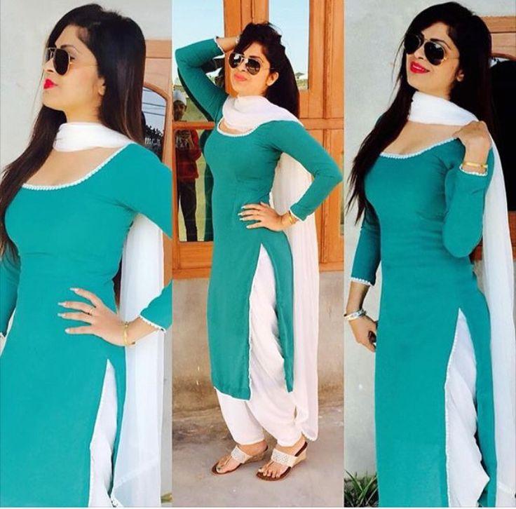Salwar Suit get your salwar suit made @nivetas Design Studio visit us : https://www.facebook.com/punjabisboutique for purchase query email: nivetasfashion@gmail.com whatsapp +917696747289 #punjabi_salwar_suit