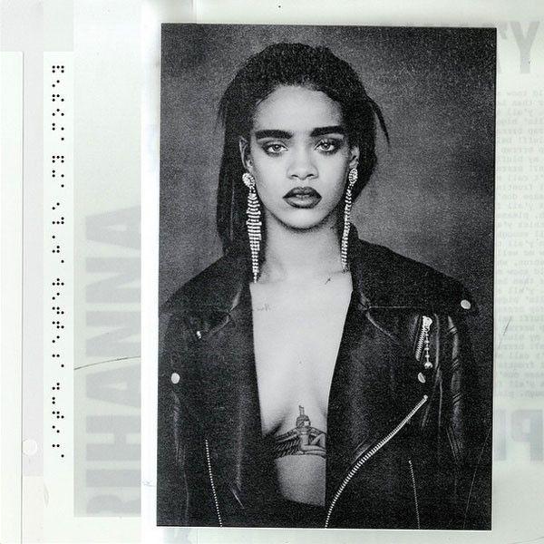 Did Rihanna Just Reveal She's Dropping a New Album Tomorrow?!  Rihanna, Album Cover, Instagram