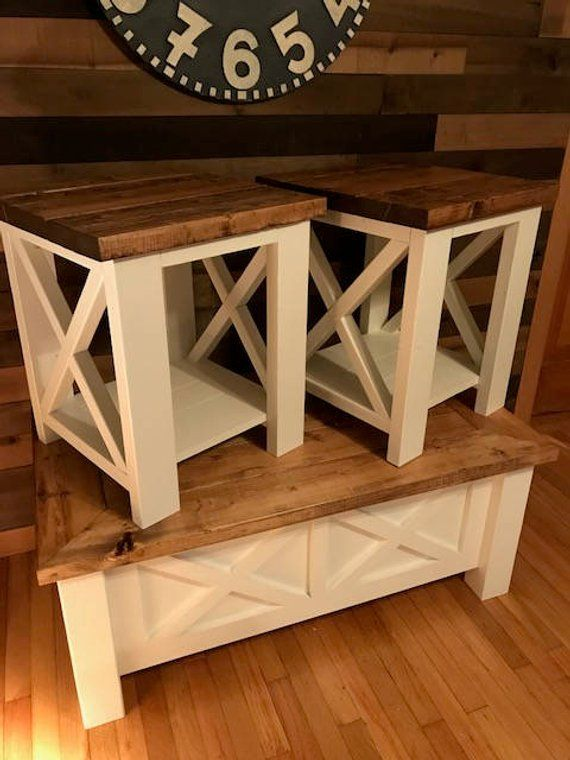 Farmhouse Coffee Table Set Free Shipping Coffee Table