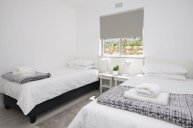 47 @ Whale Rock: Second Bedroom.  FIREFLYvillas, Hermanus, 7200 @fireflyvillas ,bookings@fireflyvillas.com,  #47@WhaleRock #FIREFLYvillas #HermanusAccommodation